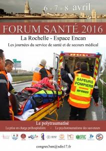 affiche FORUM SANTE 2016